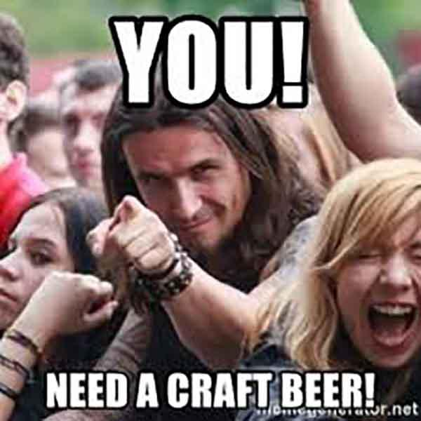 you need a craft beer