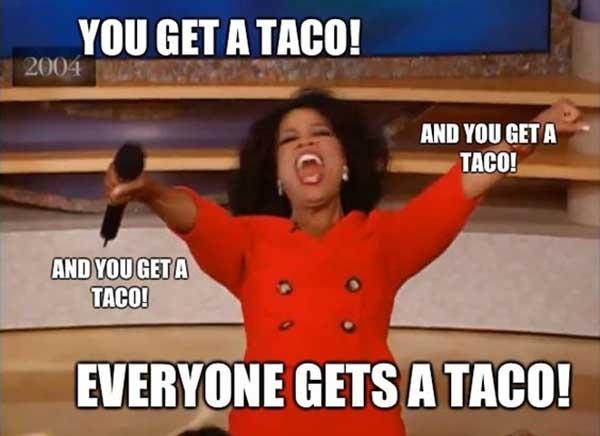 funny taco tuesday meme