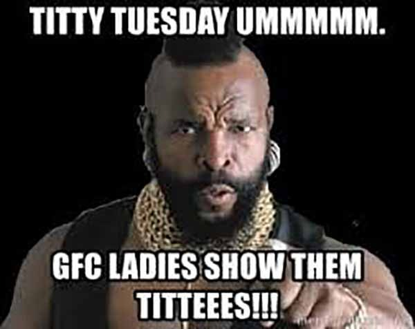funny titty tuesday meme