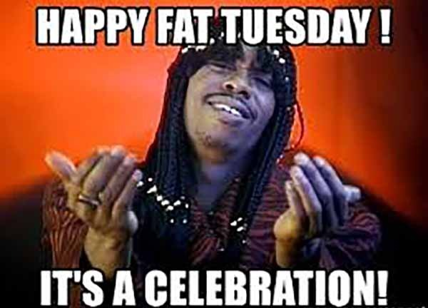 happy fat tuesday meme