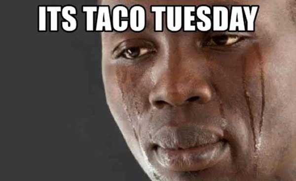 its taco tuesday