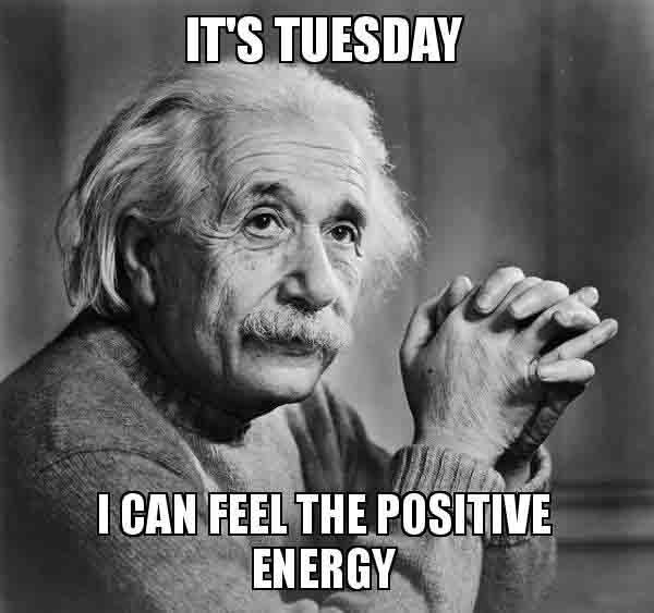positive tuesday meme