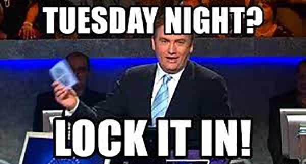 tuesday night meme