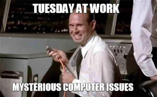 tuesday work meme funny
